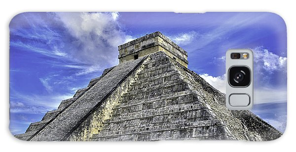 Chichen Itza, El Castillo Pyramid Galaxy Case by Jason Moynihan