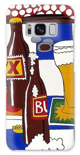 Chichis Y Cervesas Galaxy Case