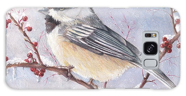 Chickadee Dee Dee Galaxy Case