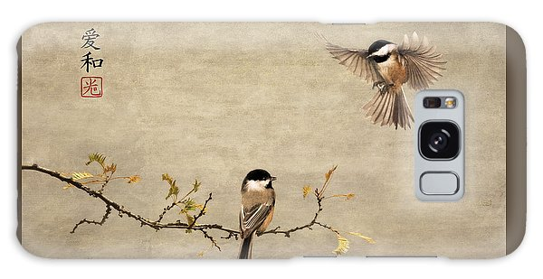 Chickadee Encounter II Galaxy Case