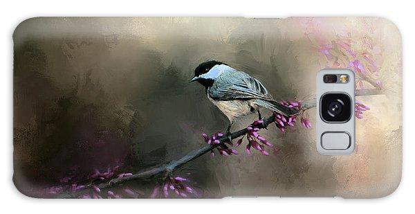 Chickadee In The Light Galaxy Case by Jai Johnson