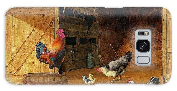 Chickens Galaxy Case