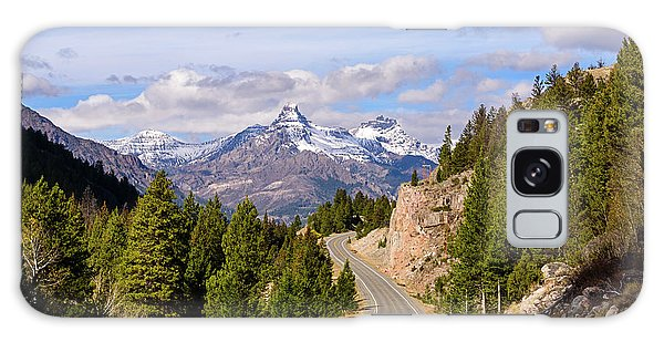 Galaxy Case featuring the photograph Chief Joseph Scenic Highway by John Gilbert