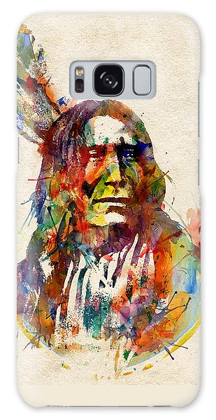 Chief Mojo Watercolor Galaxy Case by Marian Voicu