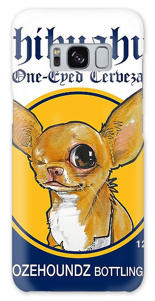 Chihuahua One-eyed Cerveza Galaxy Case