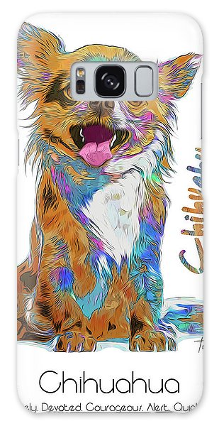 Chihuahua Pop Art Galaxy Case