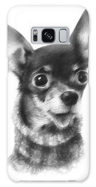 Chihuahua Pup Galaxy Case