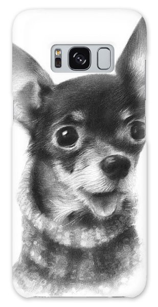 Chihuahua Pup Galaxy Case by Natasha Denger