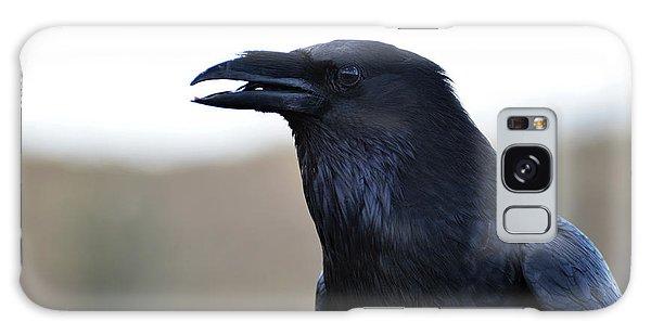 Chihuahua Raven Profile Galaxy Case