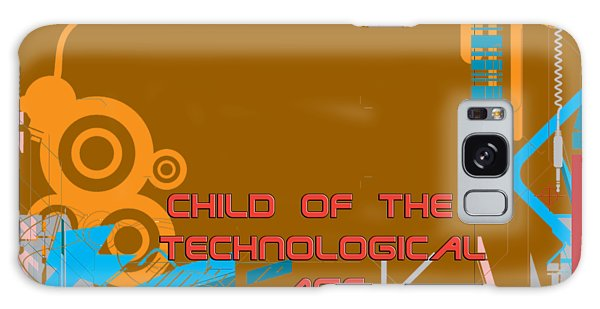 Galaxy Case - Child Of The Technological Age by Paulette B Wright