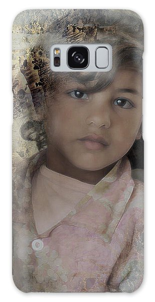 Galaxy Case featuring the photograph Childlike Faith by Kate Word