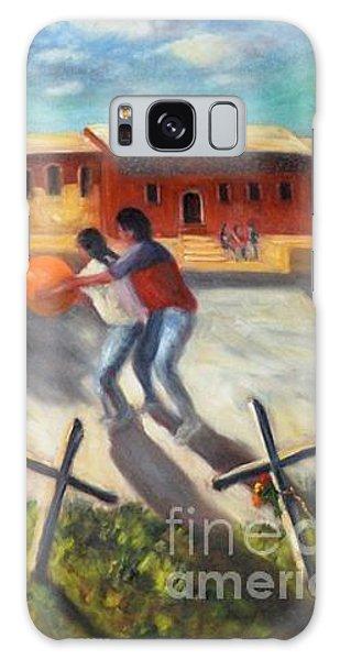 Tres Cruces De La Juventud Y La Vejez Galaxy Case by Randy Burns