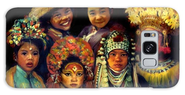 Children Of Asia Galaxy Case