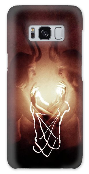 Magician Galaxy S8 Case - Children Of Fire by Cambion Art