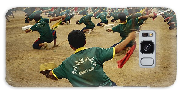 People's Republic Of China Galaxy Case - Children Practice Kung Fu In A Field by Justin Guariglia