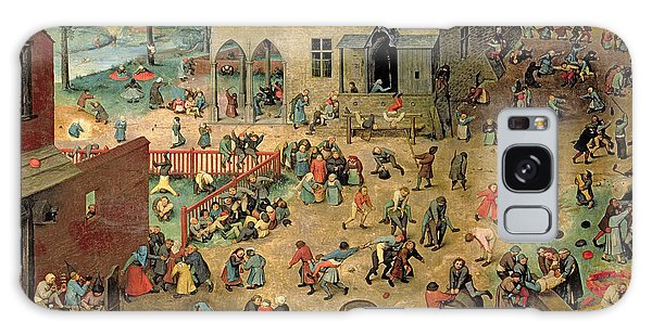 People Galaxy Case - Children's Games by Pieter the Elder Bruegel