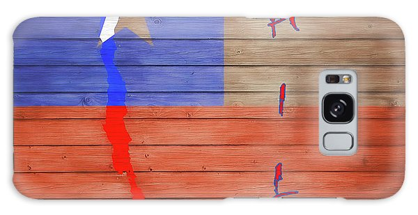 Traveler Galaxy Case - Chile Rustic Map On Wood by Dan Sproul