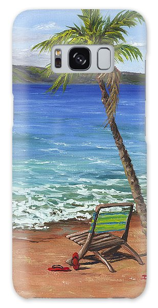 Chillaxing Maui Style Galaxy Case