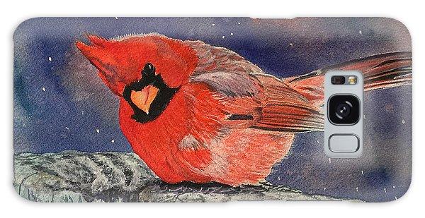 Chilly Bird Christmas Card Galaxy Case