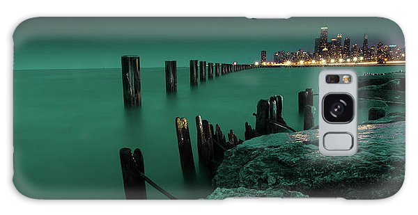 Chilly Chicago Galaxy Case