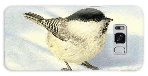 Song Bird Galaxy Case - Chilly Chickadee by Sarah Batalka
