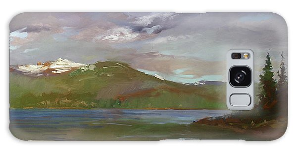 Chimney Rock  At Priest Lake  Plein Air Galaxy Case