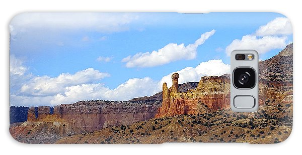 Chimney Rock Ghost Ranch New Mexico Galaxy Case