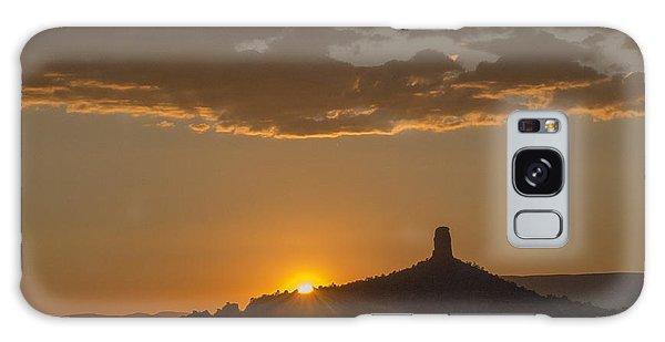 Chimney Rock Sunset Galaxy Case