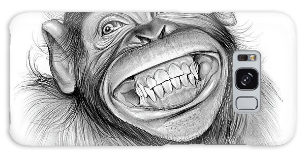 Chimpanzee Galaxy S8 Case - Chimpanzee by Greg Joens