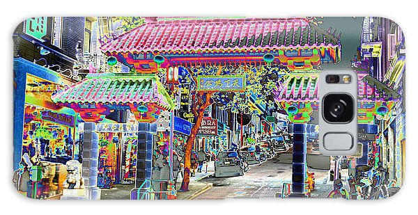 China Town  Entrance Galaxy Case