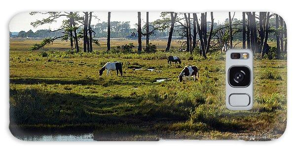 Chincoteague Ponies Galaxy Case