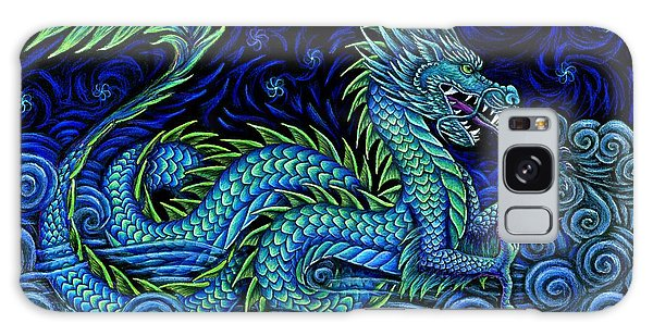 Mythological Galaxy Case - Chinese Azure Dragon by Rebecca Wang