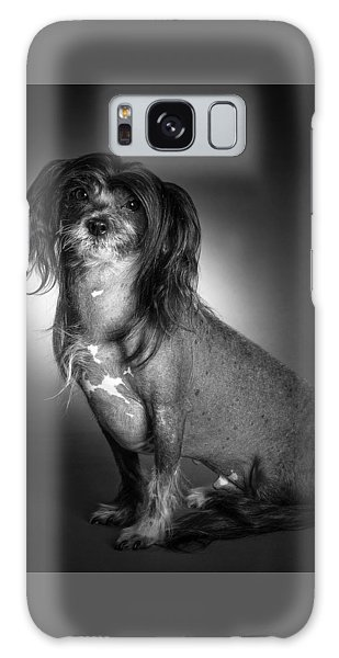 Chinese Crested - 01 Galaxy Case by Larry Carr