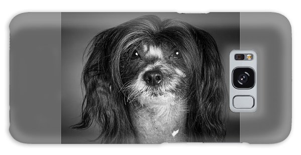 Chinese Crested - 02 Galaxy Case by Larry Carr