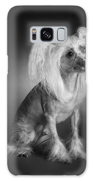 Chinese Crested - 03 Galaxy Case by Larry Carr