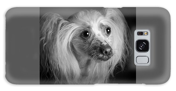 Chinese Crested - 04 Galaxy Case by Larry Carr