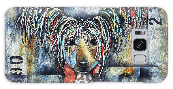 Chinese Crested Galaxy Case