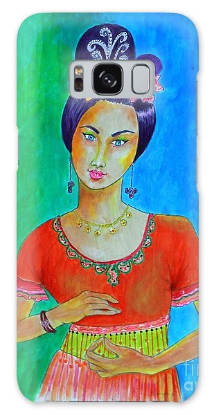 Chinese Dancer -- The Original -- Portrait Of Asian Woman Galaxy Case
