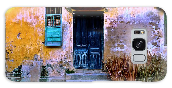 Chinese Facade Of Hoi An In Vietnam Galaxy Case