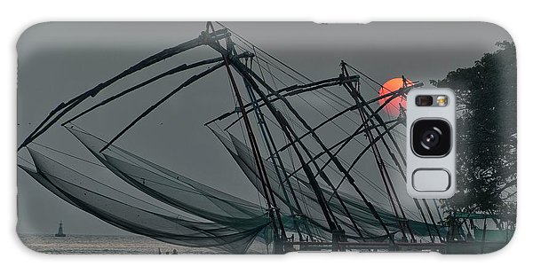 Chinese Fishing Nets, Cochin Galaxy Case by Marion Galt