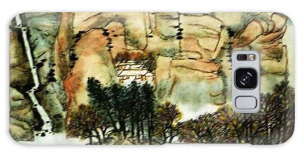 Chinese Landscape #1 Galaxy Case