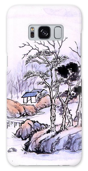 Chinese Landscape Galaxy Case