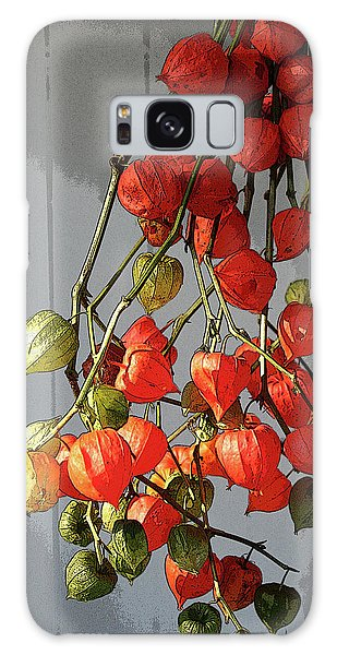 Chinese Lanterns Galaxy Case