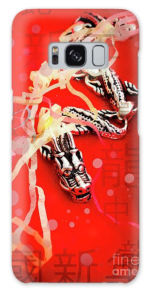 Dragon Galaxy S8 Case - Chinese New Year Background by Jorgo Photography - Wall Art Gallery
