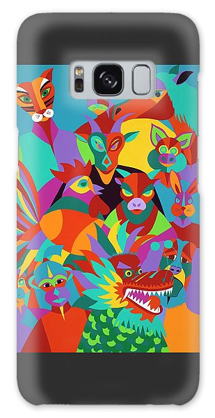 Galaxy Case - Chinese New Year by Synthia SAINT JAMES