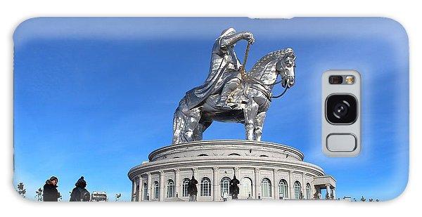 Chinggis Khan Statue/tsagaan Sar Galaxy Case