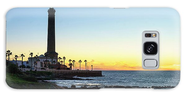 Chipiona Lighthouse Cadiz Spain Galaxy Case by Pablo Avanzini