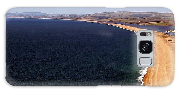 Chesill Beach Dorset Galaxy Case by Stephen Melia
