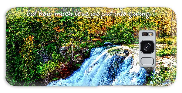 Chittenango Falls, Ny Mother Teresa  Galaxy Case by Diane E Berry