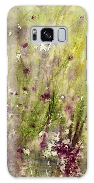 Chive Garden Galaxy Case by Judith Levins